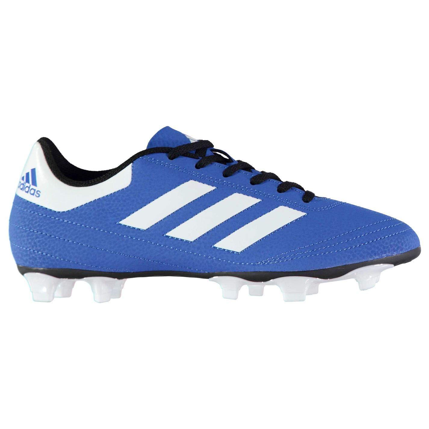 Adida Goletto FG Fußballschuhe für Herren, Blau Weiß