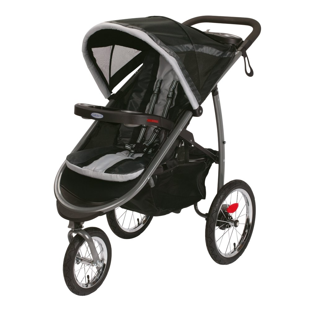 Graco Fastaction Fold Jogger Click Connect Stroller, Pierce 1934712