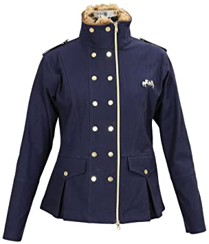 Equine Couture chaqueta Militar para mujer, mujer, azul ...