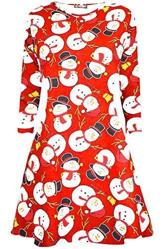 Oops Outlet - Vestido para mujer (manga larga, tallas de S a XXL)