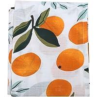 Safe Nursing Cover Multi-Use Muslin Car Seat Cover Baby Boys(Orange)