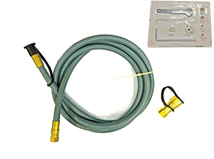 Amazon Com Universal Parts 710 0007 Natural Gas Hose Kit Garden Outdoor