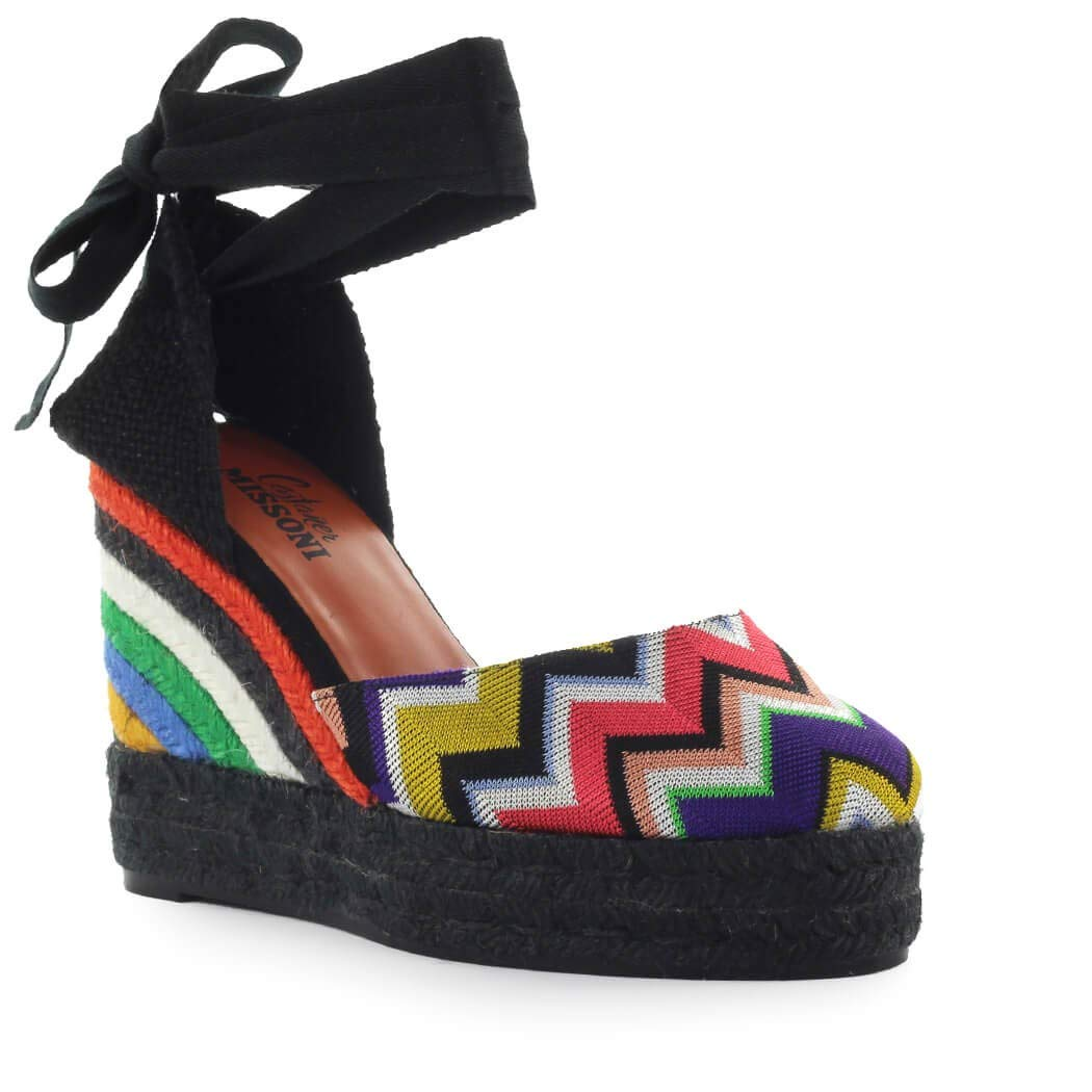 d75848797bac3 Amazon.com | CASTAÑER Women's Shoes by Missoni Carina Multicolor Wedge  Espadrille SS 2019 | Shoes