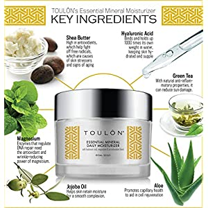 Best Daily Face Moisturizer with Natural Hyaluronic Acid, Magnesium & Antioxidants - Anti Aging Cream to Fight Free Radical Damage and Reduce Fine Lines. Free Gift/No Risk.