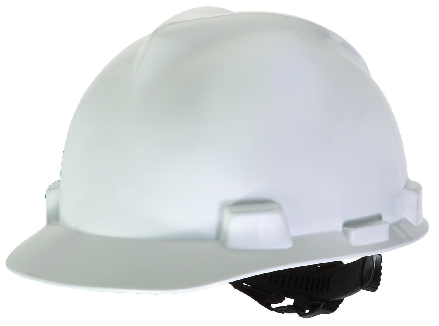 Fibre-Metal by Honeywell P2AQRW01A000 Super Eight Fiber Glass Cap Style Ratchet Hard Hat with Quick-Lok, White