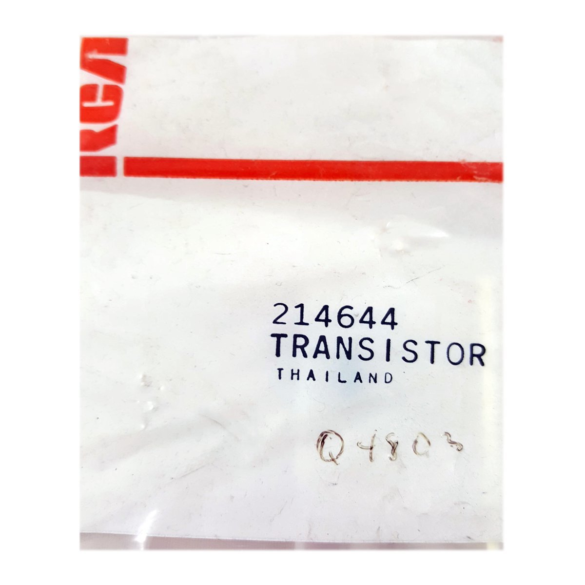 RCA VCR Replacement Transistor Part No. 214644