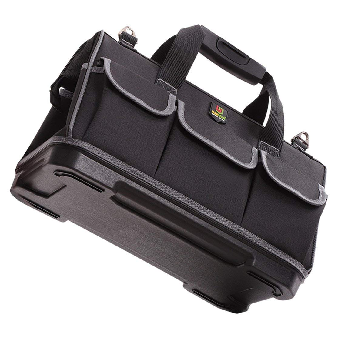 LouiseEvel215 D9 Kit de reparaci/ón de Hardware Bolsa de Herramientas Electricista Trabajo Multifunci/ón Durable Mec/ánica Oxford Tela Bolsa de Almacenamiento Organizador Bolsa