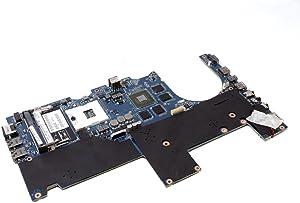 Dell Alienware M14x R2 Intel HM77 Express chipset Socket 989 2 Memory Slots Nvidia Geforce 650M Graphics Laptop Motherboard RH50G 0RH50G CN-0RH50G LA-8381P