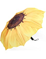 Plemo Automatic Umbrellas, Windproof Compact Folding Umbrellas with Anti-Slip Rubberized Grip, for Business and Travels or Summer Wedding Gifts