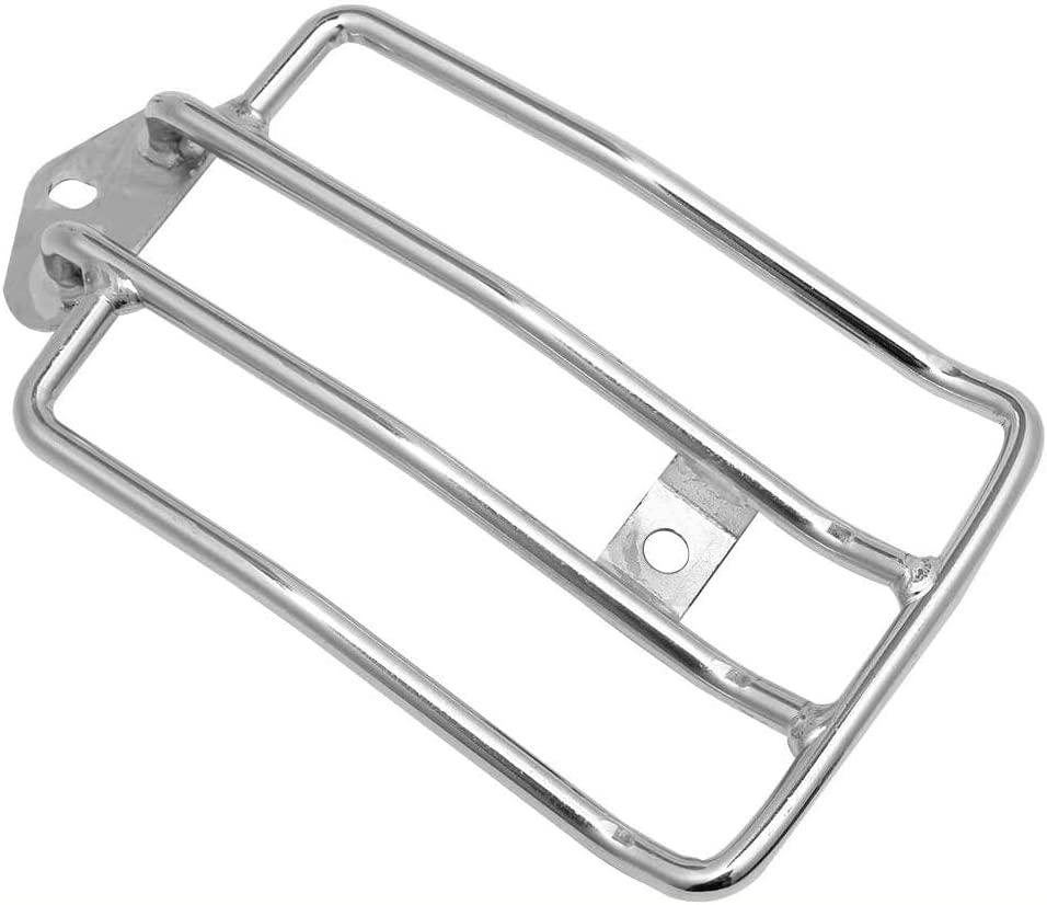 Pnndee Chrome Motorcycle Solo Seat Luggage Rack Support Shelf for Harley Sportster XL 883 1200 48 2004-2018 2017