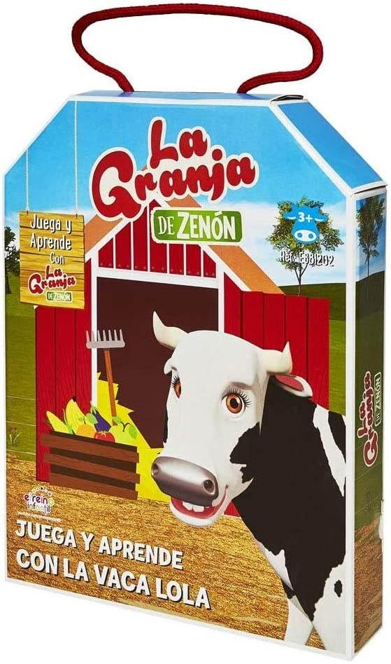 La Granja de Zenón - Puzzles Juega y Aprende con la Vaca Lola