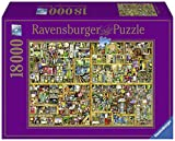 Ravensburger Magical Bookcase 18,000 Piece Jigsaw Puzzle for Adults - Softclick Technology Means Pieces Fit Together Perfectly