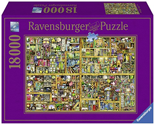 Ravensburger Magical Bookcase Jigsaw Puzzle (18000 ()