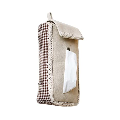 6f119b175 Tela para Colgar tipo toalla de papel caja creativa Europea simple dibujo caja  bolsa de habitación