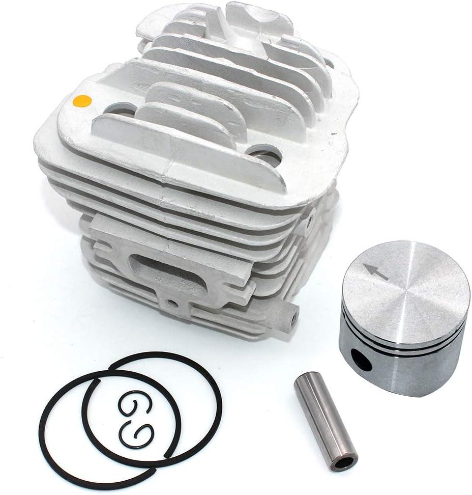 P SeekPro Kit Piston Cylindre 45mm pour Oleo-Mac 952 952 Master Efco 152 Tron/çonneuse PN 50082012E 50082012 50070047a 50082012B
