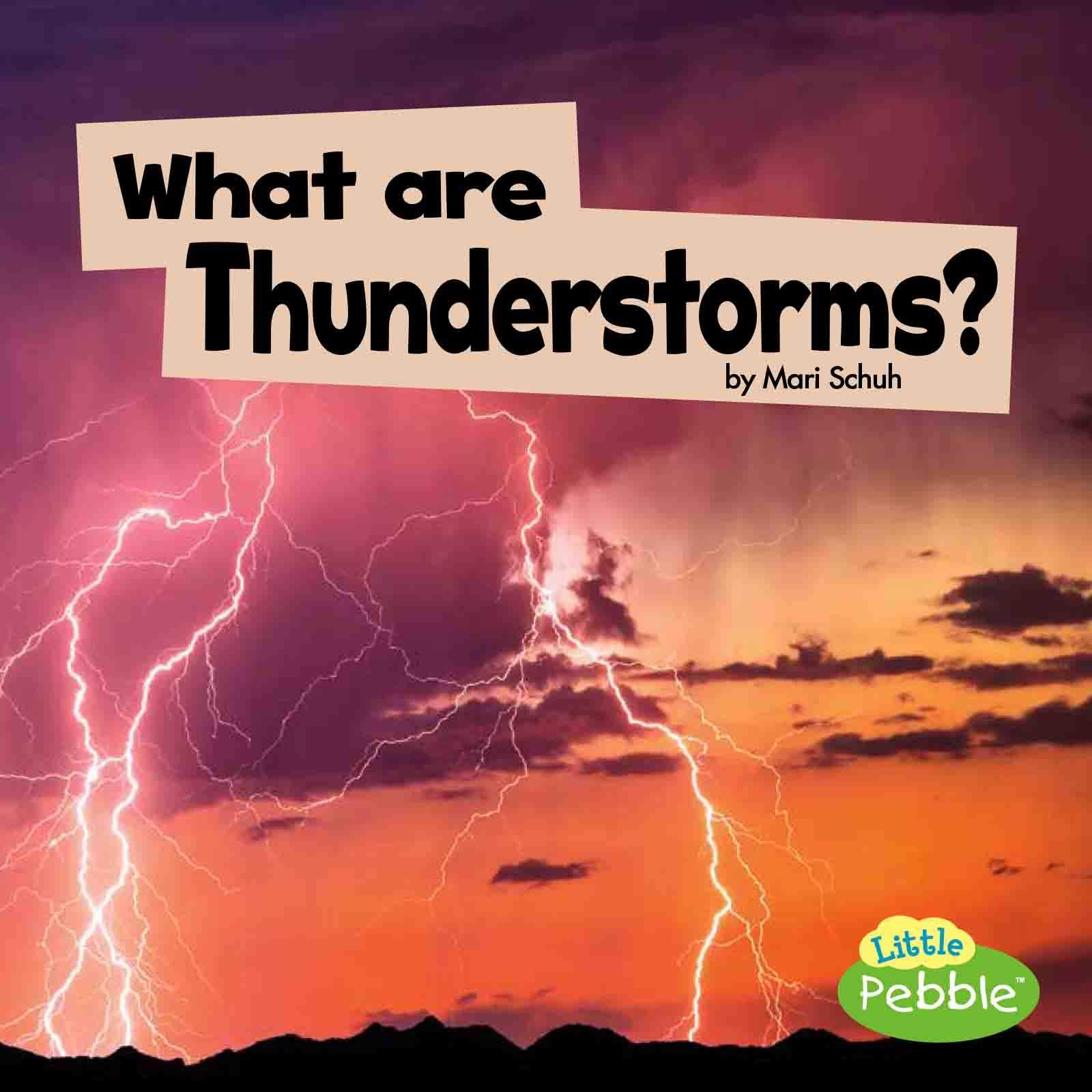 What Are Thunderstorms?: Mari C Schuh: 9781977103307: Books - Amazon ca