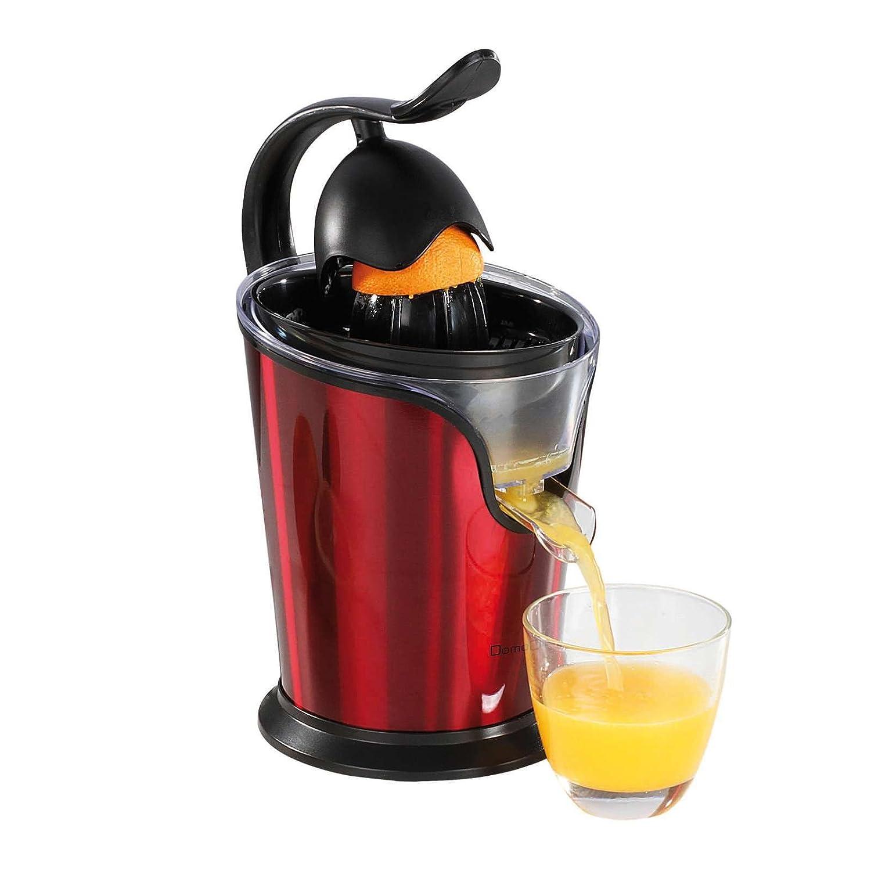 - Exprimidor eléctrico con boquilla naranjas de prensa Exprimidor 100 W (Licuadora, 2 Conos, motor silencioso, doble boquilla, Rojo): Amazon.es: Hogar