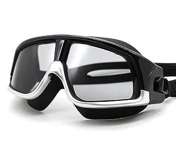 Kaxima Gafas de natación Adulto Alta definición polarizada Placas Plano Espejo-Macho y Hembra Adultos