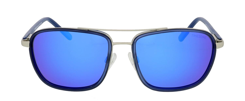 Sonnenbrille TIMEZONE Marcus Herren Damen Unisex POLARISIERTE GLÄSER + Neoprene Brillenband (45 Braun-Blau/Braun) TEao2h4a