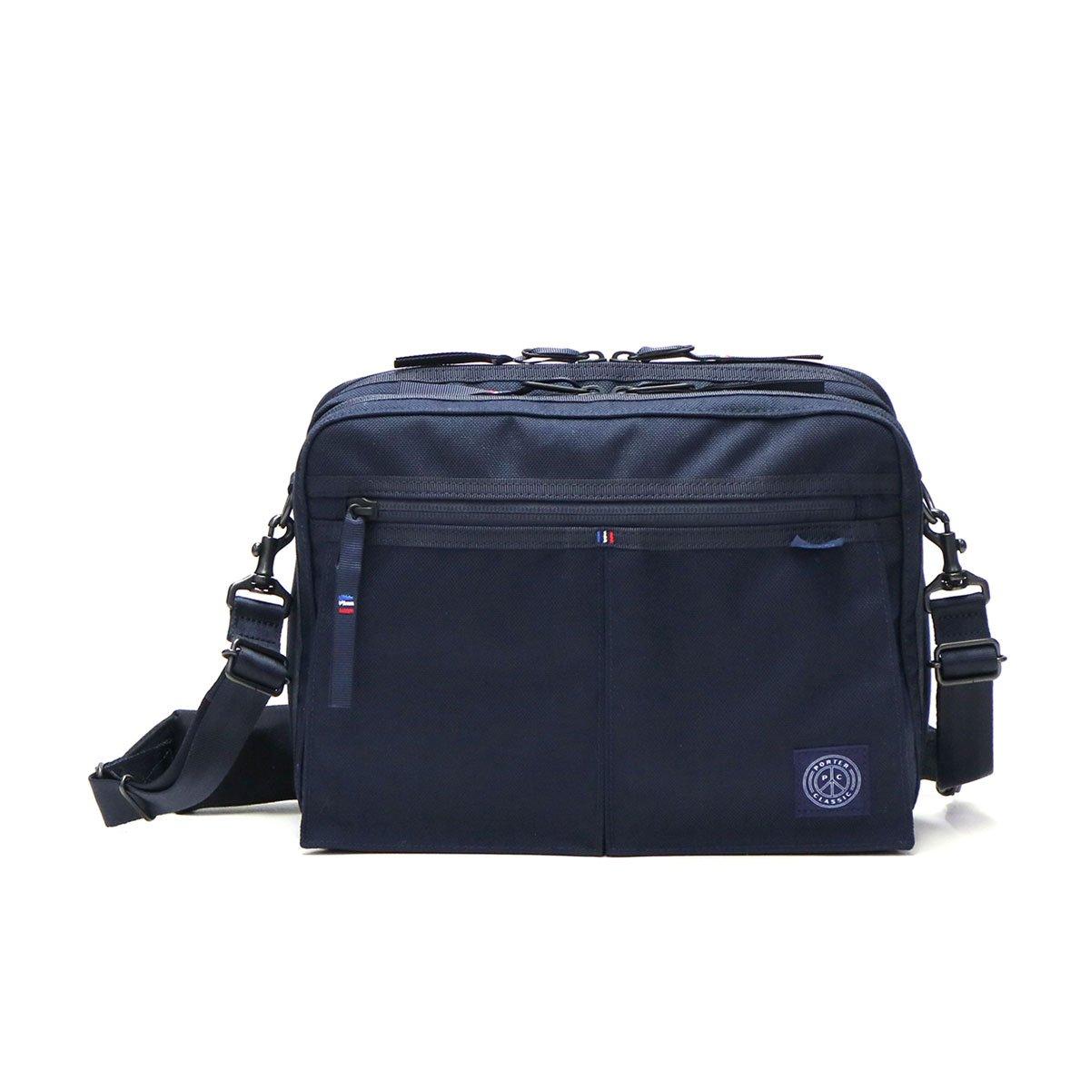[ポータークラシック]Porter Classic ショルダーバッグ muatsu NEWTON SHOULDER BAG PC-050-955 B07CGC77XM ネイビー(41) ネイビー(41)