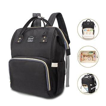 Amazon.com: eGrand bolsa de pañales mochila de viaje bolso ...