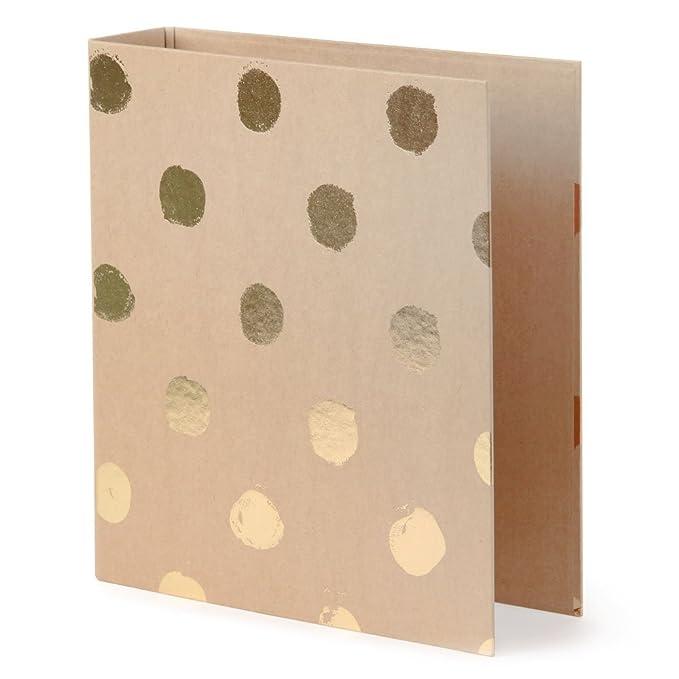 Paperchase - Archivador A-Z de palanca de papel Kraf grande: Amazon.es: Oficina y papelería