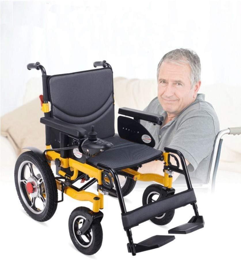 Inicio Accesorios Ancianos Discapacitados Sillas de Ruedas Ligeras para Adultos Sillas de Ruedas eléctricastransport Frien Silla de Ruedas eléctrica Plegable Ligera para Adultos
