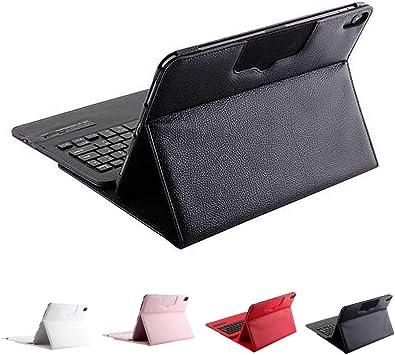 YOUZHA Teclado Estuche para Teclado para iPad Pro 11 2019 Estuche con Accesorio de Carcasa para Teclado inalámbrico extraíble, Blanco: Amazon.es: Electrónica