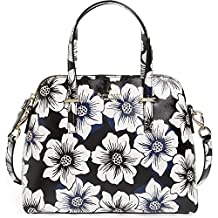 Kate Spade New York Women's Cedar Street Floral Maise Black Multi Satchel