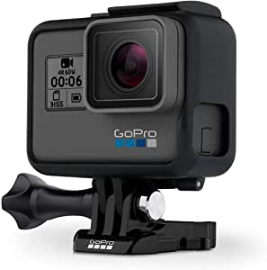 (Renewed) GoPro HERO6 Black 4K Action Camera