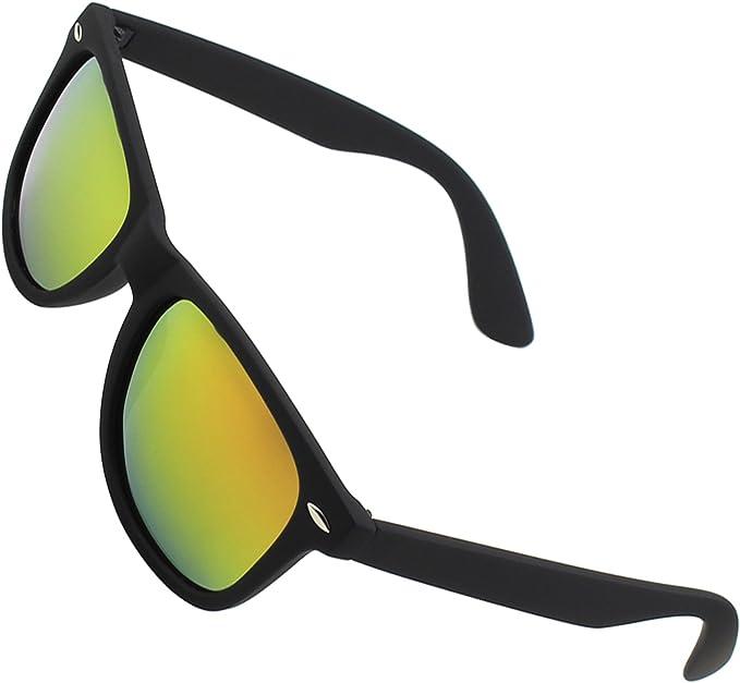 Nerd Brille Nerdbrille Sonnenbrille Retro verspiegelt Streberbrille Herren Damen