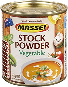 Massel Stock Powder, Vegetable, No MSG, Gluten & Dairy Free (168g)
