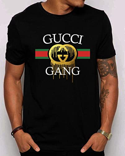 ad360cb03 Image Unavailable. Image not available for. Color: Gucci Gang Lil' Pump  Inspired New T-Shirt ...
