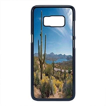 Amazon com: Cell Phone Case Compatible Samsung Galaxy S8,Saguaro
