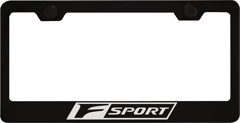 lexus f sport license plate frame