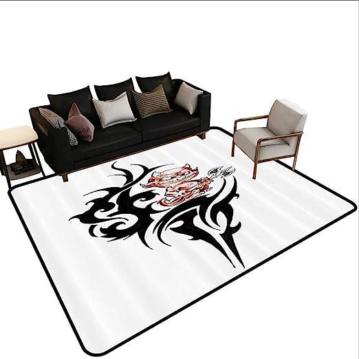 Alfombra de Dormitorio con diseño de Monstruo y Criatura con ...