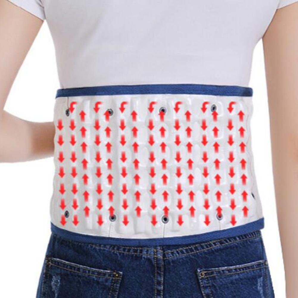 LPY-Lumbar Support Lumbar Disc Herniation Massager Spinal Air Traction Air Wave Back Belt , A by Waist support (Image #6)