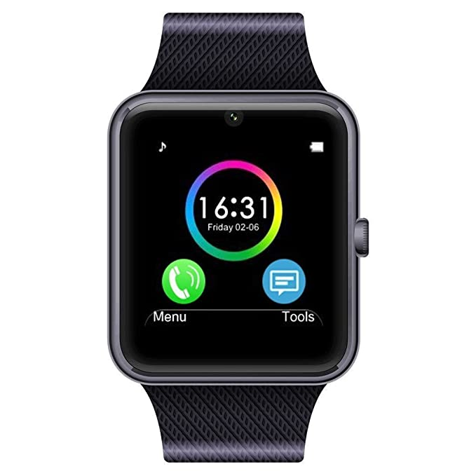 Amazon.com: Tagital T6 Bluetooth Smart Watch Wrist Watch with Camera For Android IOS Smart Phone Samsung S5 / Note 2 / 3 / 4, Nexus 6, HTC, Sony, ...
