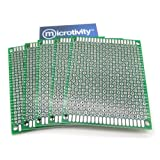 microtivity IM416 Double-sided Prototyping Board (6x8cm, Pack of 5)