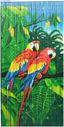 Bamboo54 Curtain Double Parrot