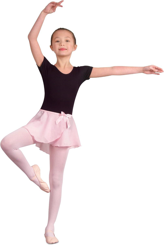 Danshuz Children's Georgette Mock Wrap Skirt : Clothing