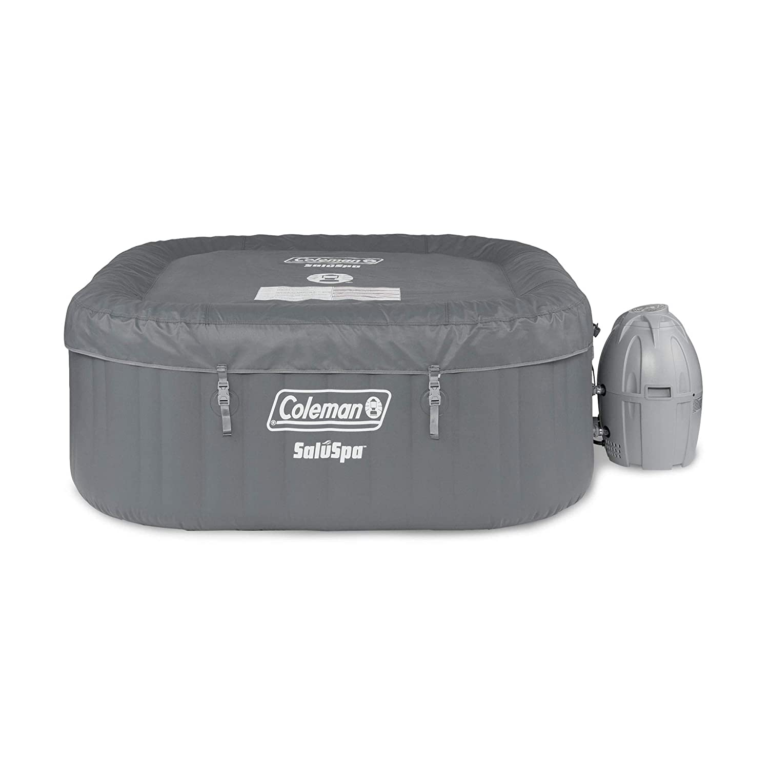 Coleman SaluSpa Bubble Airjet Technology with Pump and Cover