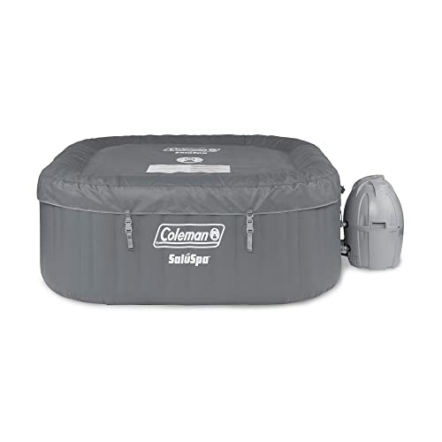 Essential Hot Tubs 100-Jet Calypso Hot Tub, Seats 6-7, Gray