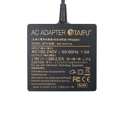 TAIFU Cargador Universal para Portátil ASUS X551 Serie X551C X551CA X551M X551MA X551MAV X451M X550C X551MA-SX030H X551CA-XH31 X551MA-DS21Q X554L X555L ...