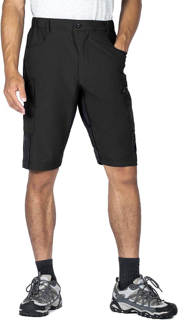 Wespornow Men-Padded-MTB-Shorts Mountain-Bike-Shorts