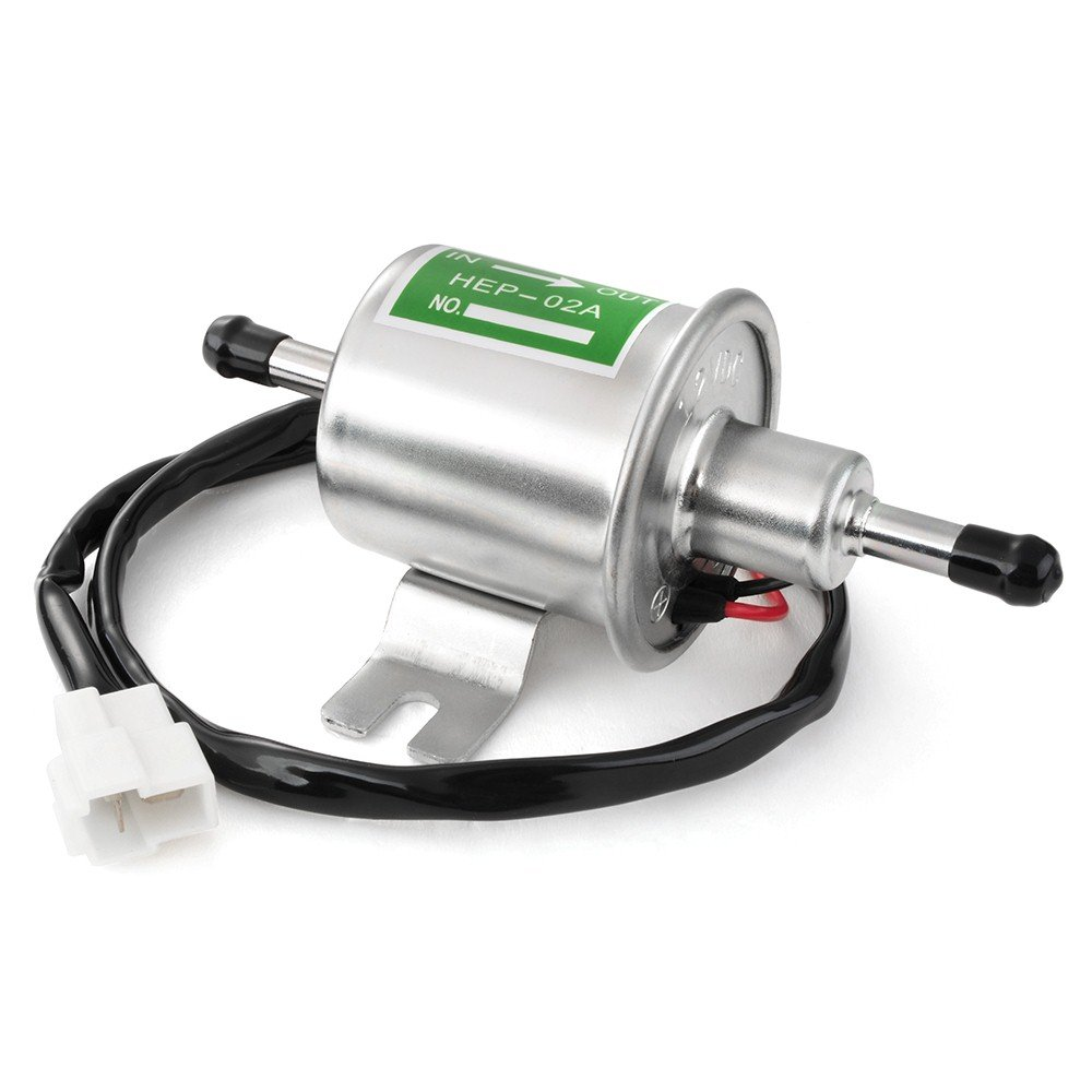 Efikeco Universal Electric Fuel Pump 12v Metal In Tank Petrol Com View Topic Rotary W Relay Question 120l H For Cars Vehicles Boats Hep 02a Car Motorbike