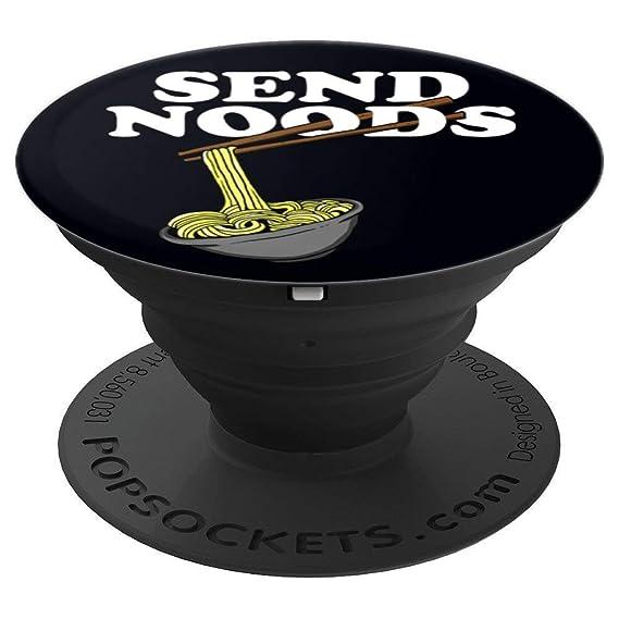 Amazon com: Send Noods Pop Socket Ramen Pop Socket Noodle Pop Socket