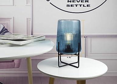 Amazon.com: MJ PREMIER - Lámpara de mesa de noche, lámpara ...