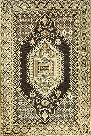 Mad Mats Oriental Turkish Indoor/Outdoor Floor Mat, 4 by 6-Feet,