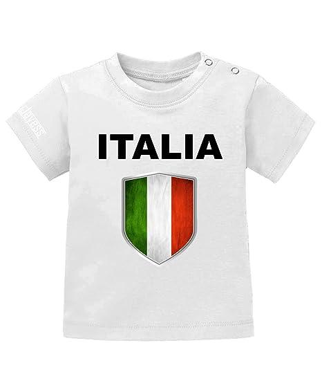 Jayess Italia Wappen Italien Baby T Shirt Amazon De Bekleidung